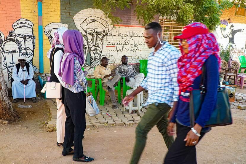 Straatbeeld Khartoem
