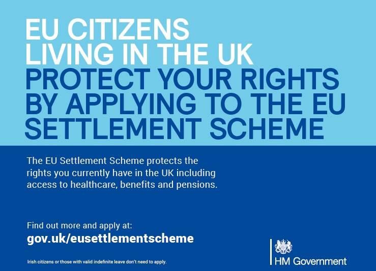 De EU Settlement Scheme van de Britse overheid